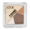Bild: LOOK BY BIPA Colour Explosion Quattro Shadows caramel cookie