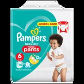 Bild: Pampers Baby-Dry Pants Gr. 6 (16+kg) Jumbopack