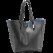 Bild: LOOK BY BIPA Shopper schwarz -blau