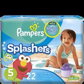 Bild: Pampers Splashers Schwimmwindeln Gr. 5 14-18kg