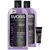 Bild: syoss PROFESSIONAL Shampoo Full Hair 5 Duo + Sofort Kur Shot