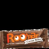 Bild: Roobar Cacao Nibs Riegel