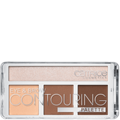 Bild: Catrice Eye & Brow Contouring Palette 020 But First, Hot Coffee!