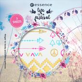 Bild: essence Life is a Festival Finger und Body Jewellery Tattoos