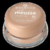 Bild: essence Soft Touch Mousse Make-Up matt sand