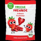 Bild: Freche Freunde Fruchtchips Erdbeere