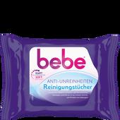 Bild: bebe Young Care Anti-Unreinheiten Reinigungstücher