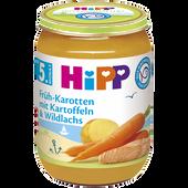 Bild: HiPP Früh-Karotten mit Kartoffeln und Lachs
