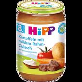 Bild: HiPP Kartoffeln mit Rahmgulasch
