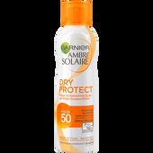 Bild: GARNIER AMBRE SOLAIRE Dry Protect Sonnenschutz-Spray LSF50