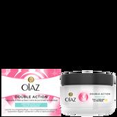 Bild: Olaz Essentials Double Action Tagescreme empfindliche Haut