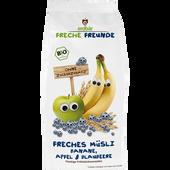 Bild: Freche Freunde Freche Freunde Freches Müsli Banane Apfel-Blaubeere