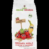Bild: Freche Freunde Freches Müsli Banane-Erdbeere