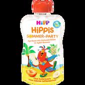 Bild: HiPP Hippis Sommer-Party  Aprikose mit Holunderblüte in Apfel-Banane