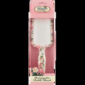 Bild: The Vintage Cosmetic Company Paddle Bürste rechteckig blumig