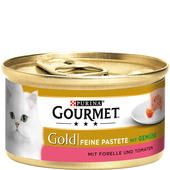 Bild: GOURMET Gold Pastete mit Gemüse & Forelle