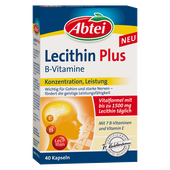 Bild: Abtei Lecithin plus B-Vitamine Kapseln