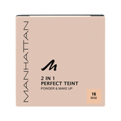 Bild: MANHATTAN Perfect Teint 2in1 Powder & Make-up beige