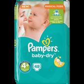 Bild: Pampers Baby-Dry Gr. 4+ (9-18kg) Big Bag