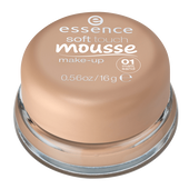 Bild: essence Soft Touch Mousse Make-Up matt sand
