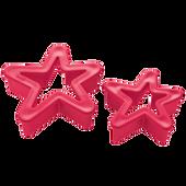 Bild: KOZIOL Ausstechform Sterne Set rot