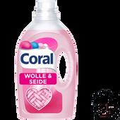 Bild: Coral Color Expertise Flüssigwaschmittel Wolle & Seide