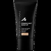 Bild: MANHATTAN Powder Mat Make Up beige