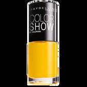 Bild: MAYBELLINE Colorshow Nagellack electric yellow