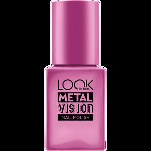 Bild: LOOK BY BIPA Metal Vision Nagellack royal raspberry