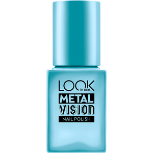 Bild: LOOK BY BIPA Metal Vision Nagellack blue  oxidation