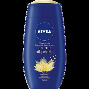 Bild: NIVEA Creme Oil Pearls Pflegedusche Lotus-Duft