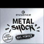Bild: essence Metal Shock Nail Powder mirror, mirror on the nail