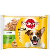 Bild: Pedigree Hund & Lamm in Gelee 4er Pack