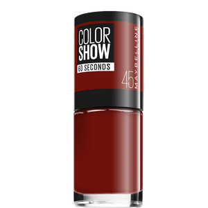 Bild: MAYBELLINE Colorshow 60 seconds Nagellack cherry on the cake