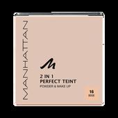 Bild: MANHATTAN Perfect Teint 2in1 Powder & Make-up beige