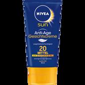 Bild: NIVEA Sun anti-age Gesichts-Sonnencreme LSF 20