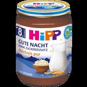 Bild: HiPP Gute-Nacht Milchreis pur