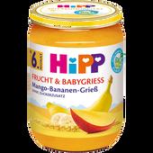 Bild: HiPP Sommer Genuss Mango-Bananen-Grieß