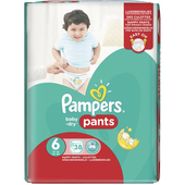 Bild: Pampers Baby-Dry Pants Gr. 6 (16+kg) Big Bag