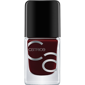 Bild: Catrice ICONails Gel Lacquer Nagellack Red Midnight Mystery