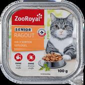 Bild: ZooRoyal Senior Ragout mit 3 Sorten Geflügel