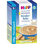 Bild: HiPP Bio-Milchbrei Gute Nacht Kinderkeks mit Vollwertflocken
