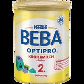 Bild: Nestlé BEBA OPTIPRO Kindermilch ab dem 2. Geburtstag