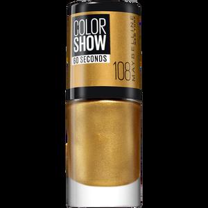 Bild: MAYBELLINE Colorshow 60 seconds Nagellack gold