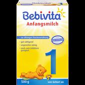 Bild: Bebivita Anfangsmilch 1