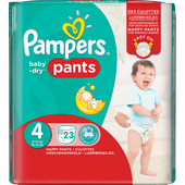 Bild: Pampers Baby-Dry Pants Gr. 4 (8-14 kg)