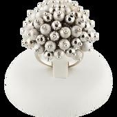 Bild: LOOK BY BIPA Ring silber Perlen