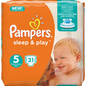 Bild: Pampers sleep & play Gr.5 (11-25kg)