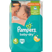 Bild: Pampers Baby-Dry Gr. 4 (8-16kg) Big Bag