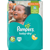 Bild: Pampers Baby-Dry Gr. 5+ (13-25kg) Big Bag
